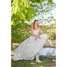 Bride 2 in Wedding Wellies