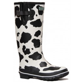 Cow Print Wellies