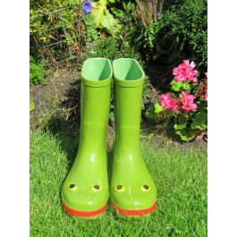 "SoleM8 ""Leapfrog"" Adult Frog Wellies"