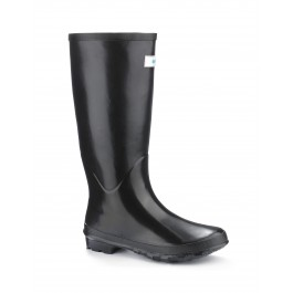 Miss Predictable Black Wellies