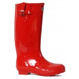 Bold Glossy Red