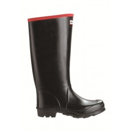 Hunter Argyll Black Welly  Full Knee