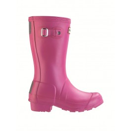Hunter Kids Wellies Fuchsia
