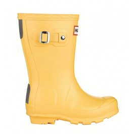 Hunter Kids Wellies Yellow
