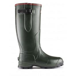 Hunter Balmoral Wellington Boots Neoprene - Dark Olive