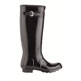 Hunter Original Gloss Black Wellington Boots