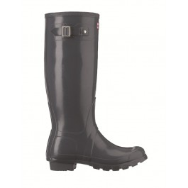 Hunter Original Gloss Wellies Graphite