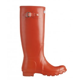 Hunter Original Tall Wellies Gloss - Poppy Red