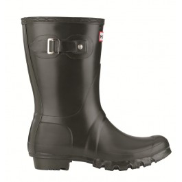 Hunter Original Classic Short Wellies - Dark Olive Single