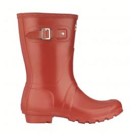 Hunter Original Short Wellies - Red