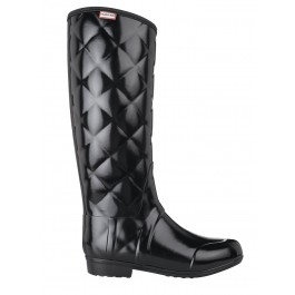 Hunter Regent Savoy Black Wellington Boots