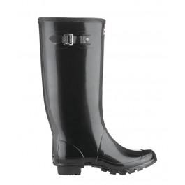 Hunter Huntress Black GLOSS Wellies