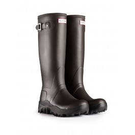 NEW Hunter Original Tall Snow Wellies Chocolate