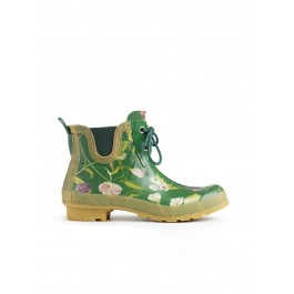 Hunter RHS Pull on Garden Shoes Green Mix