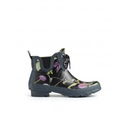 Hunter RHS Pull On Garden Boots - Black Mix