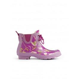 Hunter RHS Pull On Garden Boots - Violet Mix
