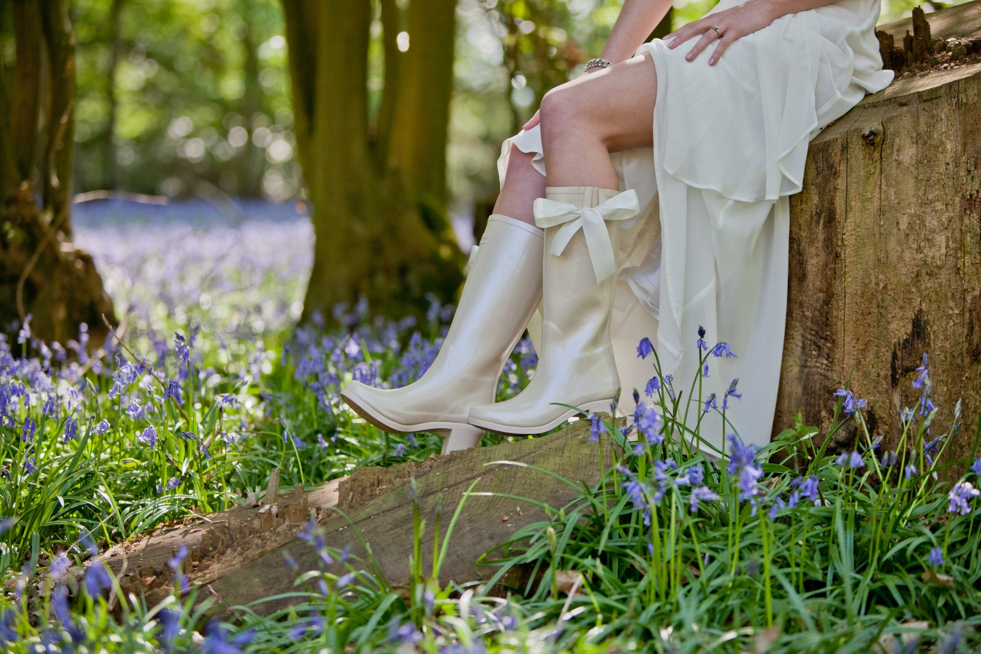 Weddington Boots will add wedding style to even the wettest day.