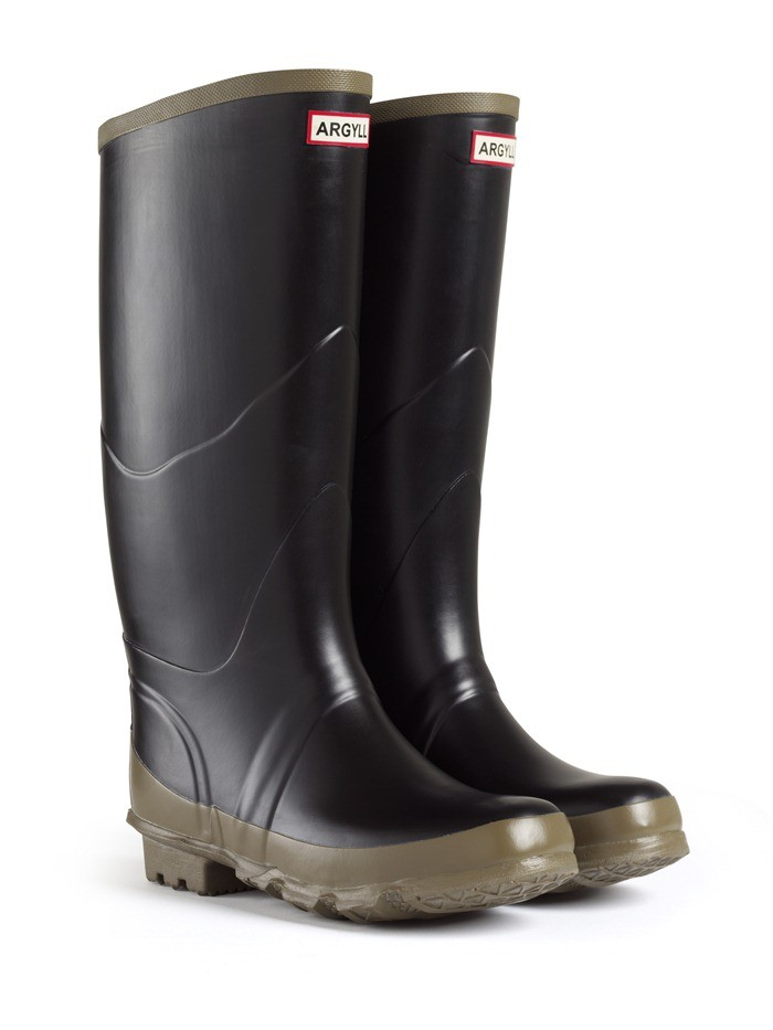 Hunter Bullseye Hood Welly Boots