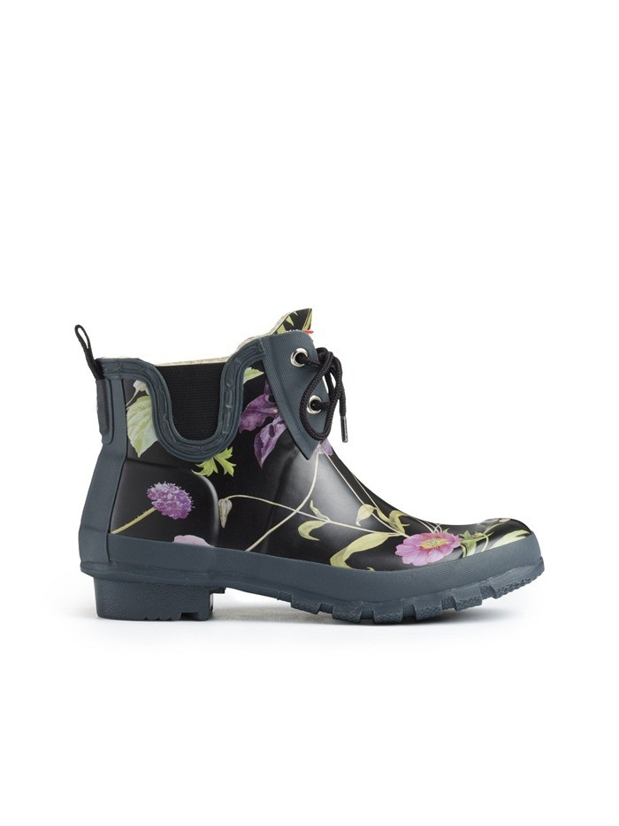 RHS Pull On Garden Boots Black Mix